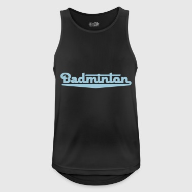 badminton 2541614 15055235 - Pustende singlet for menn