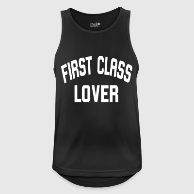 First Class Lover - Men's Breathable Tank Top