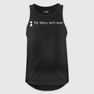 my story isnt over - Men's Breathable Tank Top