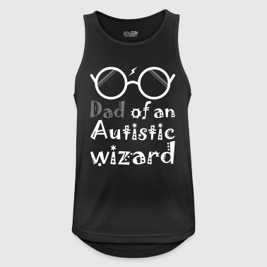 Dad Of An Autistic Wizard - Men's Breathable Tank Top