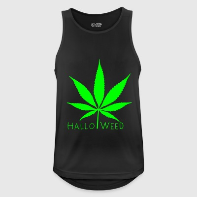 Halloweed - Pustende singlet for menn