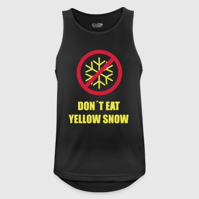 Yellow Snow - Men's Breathable Tank Top