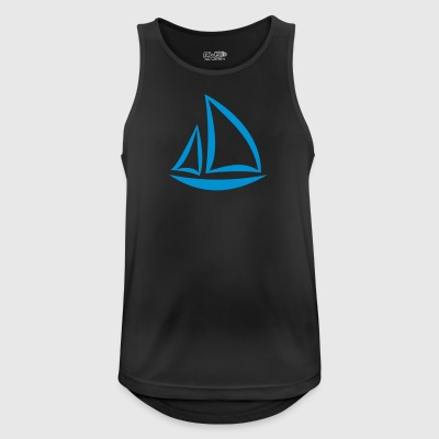 sailboat - Men's Breathable Tank Top