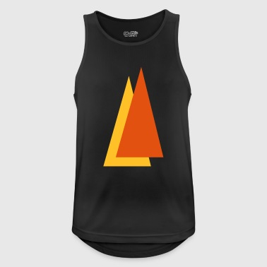 Triangle - Men's Breathable Tank Top