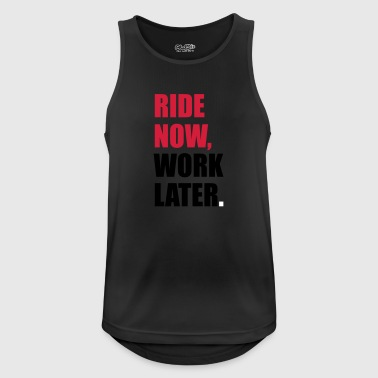 horse riding - Men's Breathable Tank Top