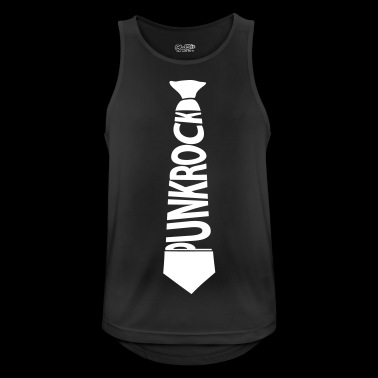 Punk rock tie - Men's Breathable Tank Top