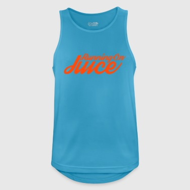 Running on Juice - Men's Breathable Tank Top