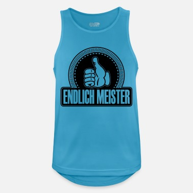 Finally masters thumbs up - Men's Sport Tank Top