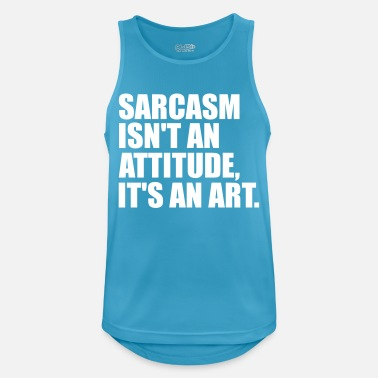 Sarcasm sarcasm - Men's Breathable Tank Top