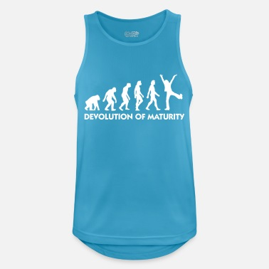 Mature The Evolution Of Maturity - Men's Breathable Tank Top