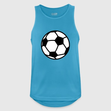 Soccer Ball Soccer - Men's Breathable Tank Top