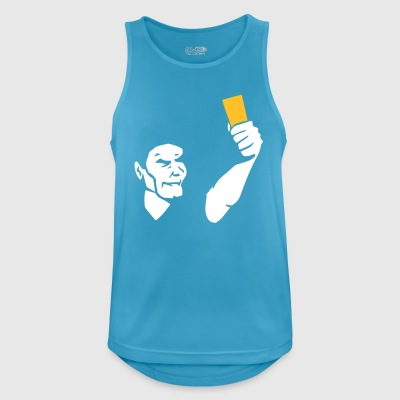 Referee shows card - Men's Breathable Tank Top