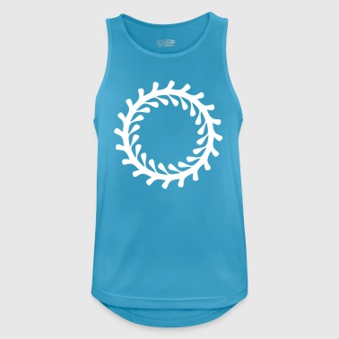 Decoration circle - Men's Breathable Tank Top