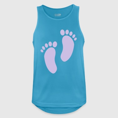 2541614 15465747 foot - Men's Breathable Tank Top