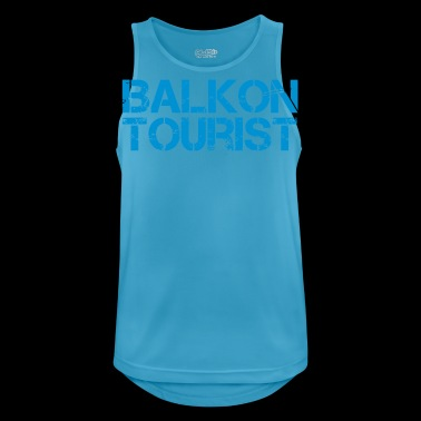Balcony tourist - Men's Breathable Tank Top