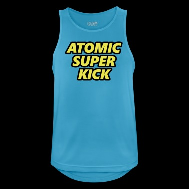 Atomic Super Kick - atomangrep - Pustende singlet for menn
