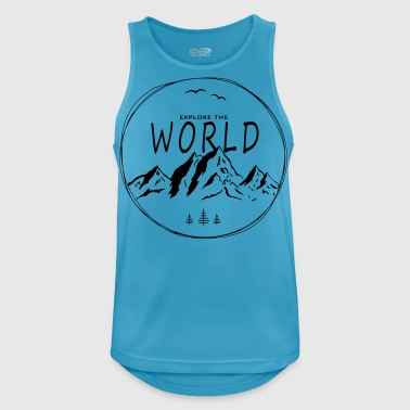 Explore the world - Men's Breathable Tank Top