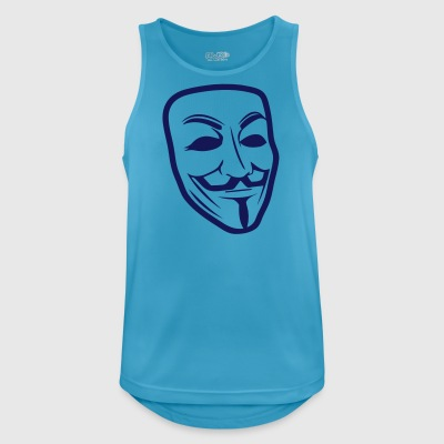 Anonymous - Men's Breathable Tank Top