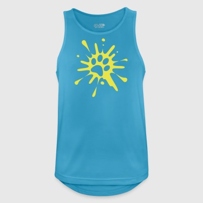 tr paw splash - Men's Breathable Tank Top