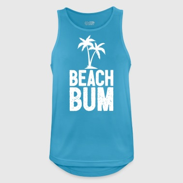 Beach Bum Cool Summer design - Canotta da uomo traspirante
