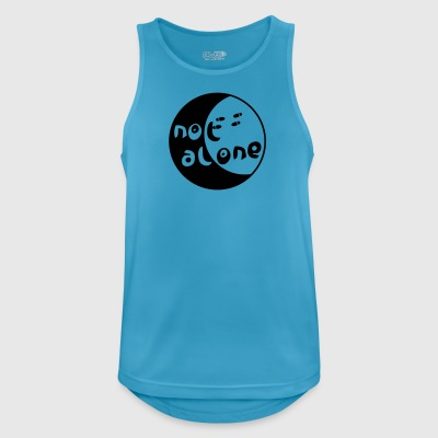 alone - Men's Breathable Tank Top