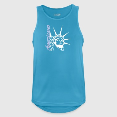 American - Men's Breathable Tank Top