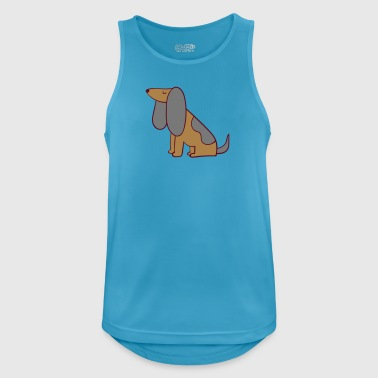 dog - Men's Breathable Tank Top