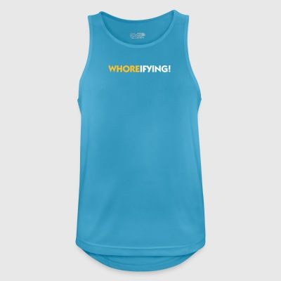 Terribly Slutty! - Men's Breathable Tank Top