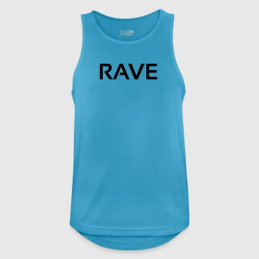 rave - Men's Breathable Tank Top