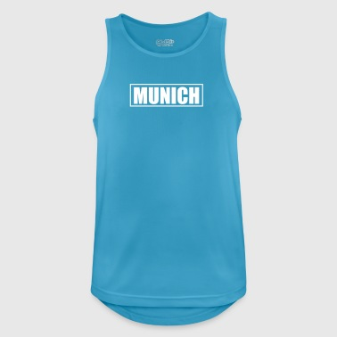 Munich - Camiseta sin mangas hombre transpirable