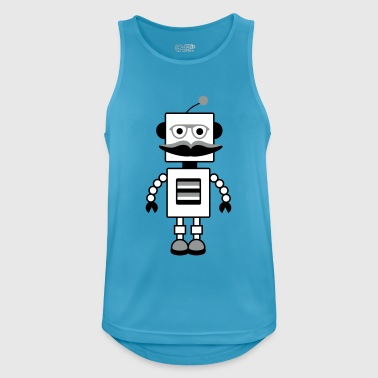 robot - Men's Breathable Tank Top