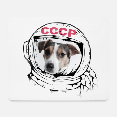 Space Laika - Mouse Pad