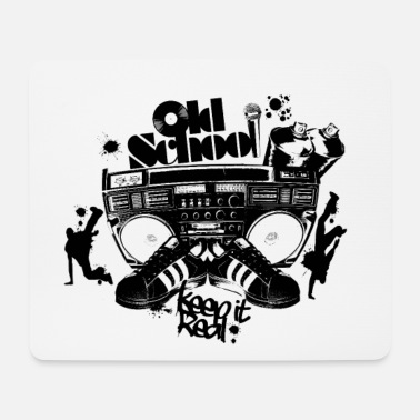Old School Hip Hop Old school - Mouse Pad
