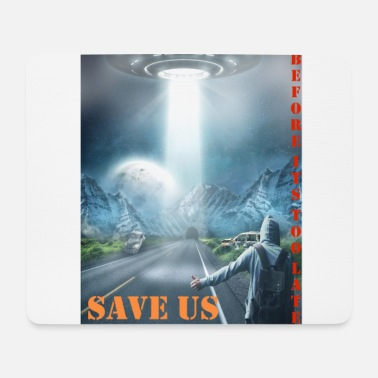Us SAVE US - Mousepad (bredformat)