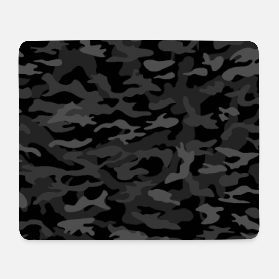 Soldaten Mousepads  - NEW AGE BLACK CAMOUFLAGE - Mousepad Weiß