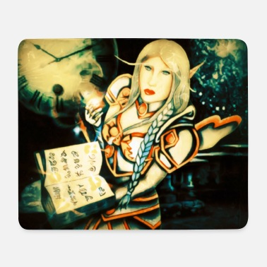 Elf Kate - Mouse Pad