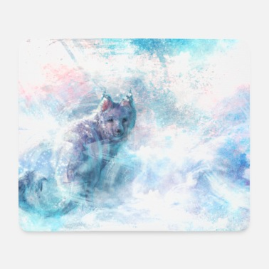 Ice Fox - Mousepad