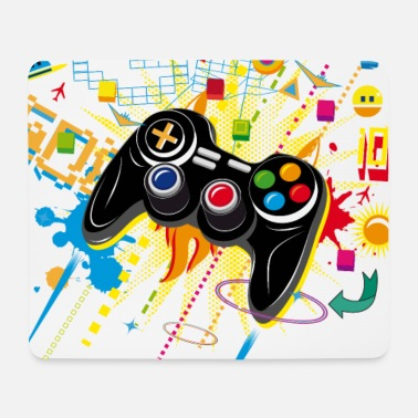 Gamepad Video Games - Mouse Pad