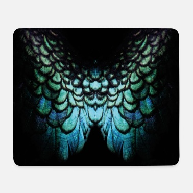 proud peacock - Mouse Pad