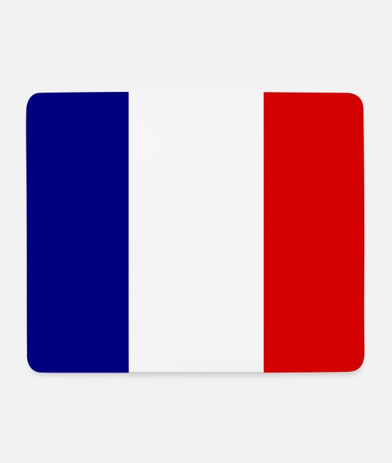 Love Mouse Pads - France - Mouse Pad white
