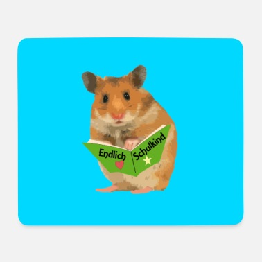 Box Finally schoolchild hamster for lunch box etc - Mouse Pad