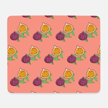 Common Tropical Fruits Fig Green Leaves Exotic Fruit Mediterranean Food - Mouse Pad