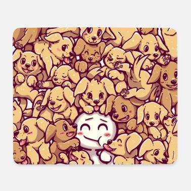 Life Goals - Golden Labrador Retriever dogs - Mouse Pad