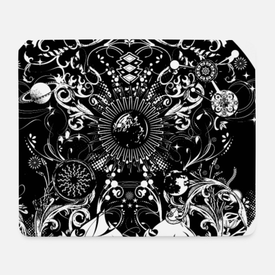Collections Mousepads  - vier Elemente - Mousepad Weiß