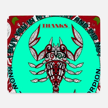 Scorpio picture / baby born clothes & teenagers, Mädc - Mouse Pad
