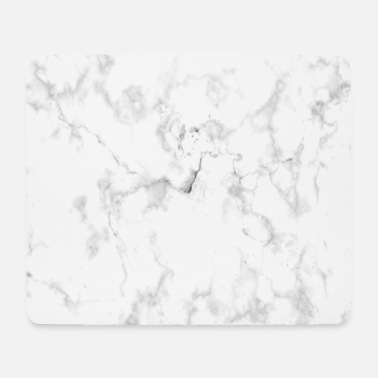 White Marble - Mouse Pad