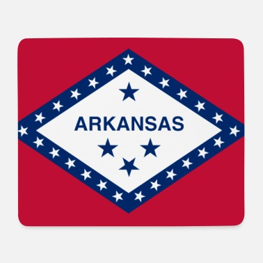 Arkansas Arkansas Flagge - Mousepad
