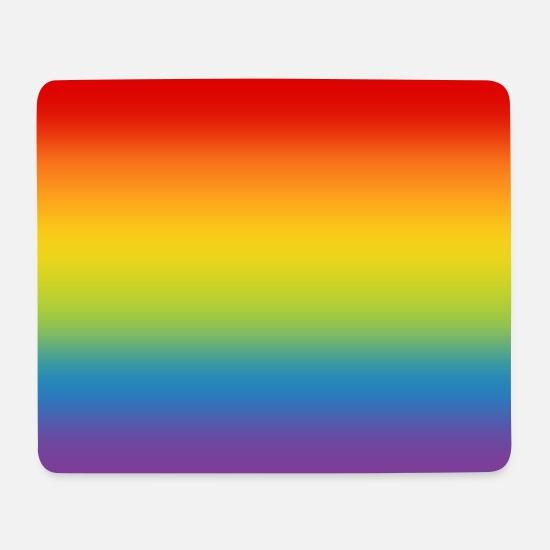 """Fahne gay Mousepad /""""Regenbogenfahne/"""" Landesflagge"""