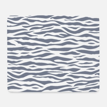 Zebra Stripes Zebra Stripe Pattern - Mouse Pad