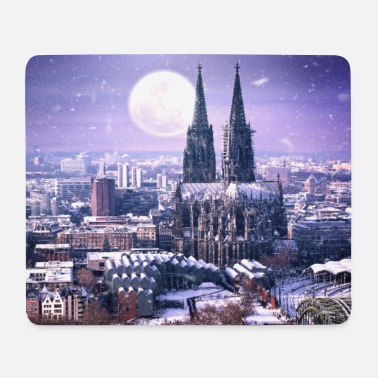 Köln Winter Köln im Winter - Mousepad